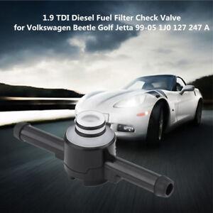 Vw 1 9 Tdi Fuel Filter Check Valve - Wiring Diagrams ROCK
