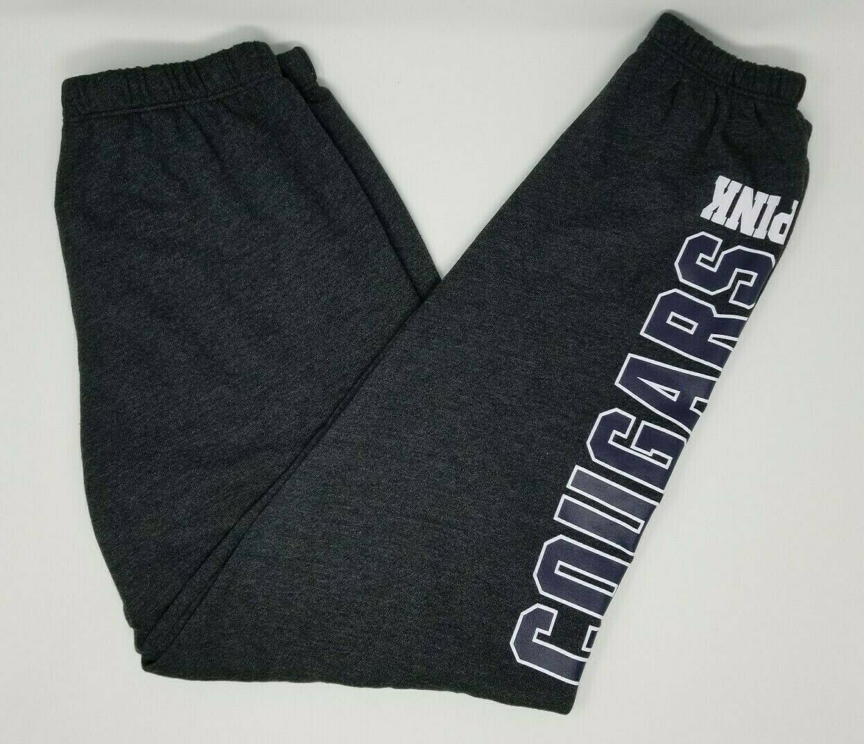 Brigham Young University Victoria's Secret Pink Dark Gray Sweatpants NWT