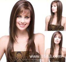 100% Human Hair ! New Korean Fashion Golden Brown Mix Fashion Wigs