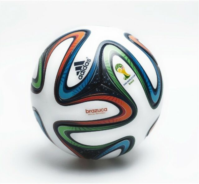Adidas Brazuca Soccer Match Ball Fifa World Cup 2014 Brazil Thermal Size 5