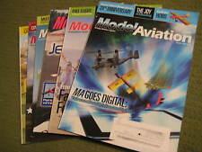 Original Lot of 6 MODEL AVIATION Magazines Five 2012 One 2013