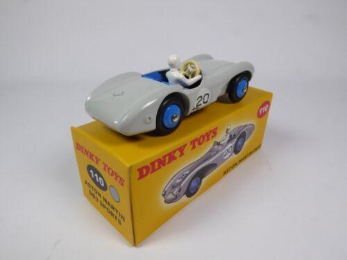 Aston Martin DB3 S grau DINKY TOYS DeAgostini MODELLAUTO CAR DIECAST 110