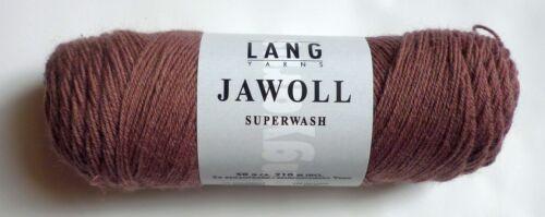Beilaufgarn Fb.348 Lang Yarns JAWOLL Sockenwolle 4fach incl