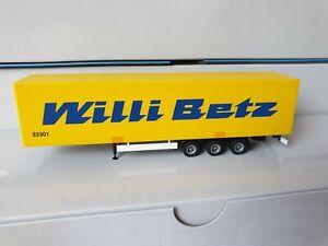 Herpa-Willi-betz-33301-tren-de-buques-trailer-a-cuestas-nuevo