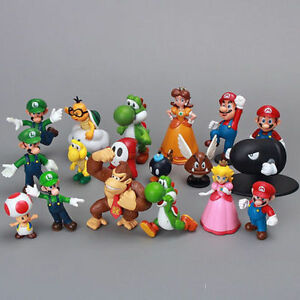 Super-Mario-Bros-18-pcs-Action-Figure-Doll-Playset-Figurine-Gift-High-Quality