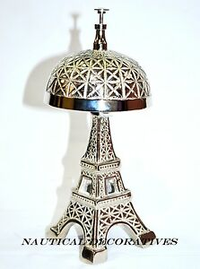 Image Is Loading Vintage Hotel Counter Eiffel Tower Desk Bell Antique