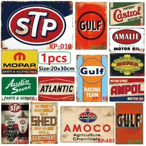 1X-20x30cm-STP-Metal-Vintage-TIN-Sign-Wall-Art-Plaque-for-Coffee-House-Wall-Art