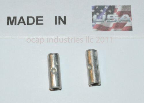 12-10 High Temperature Butt Terminal Connector 900°F TERMINAL MADE IN USA 50