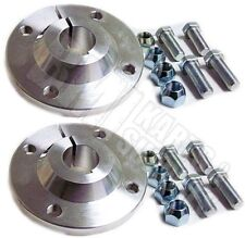 "Set of 2, 1"" Rear Axle Aluminum Wheel Hubs Go Kart Golf Off Road Cart 4 x 4"
