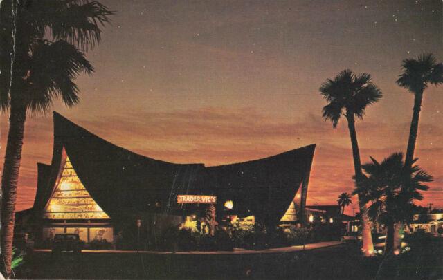 Postcard Trader Vic's Scottsdale Arizona