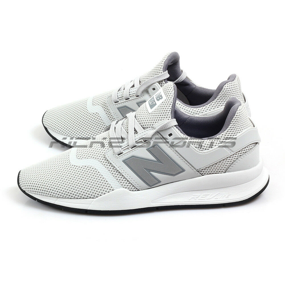 New Balance MS247FE D Ivory & Light Grey & White Lifestyle Casual Running NB