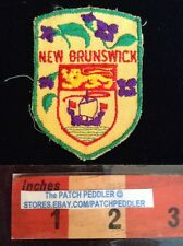 Patch New Brunswick Canada shield travel souvenir 58RR