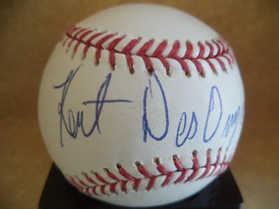 Baseball W/coa Refreshment Strong-Willed Kent Desormeaux Hof 94 Jockey Signed Autographed M.l Baseball-mlb
