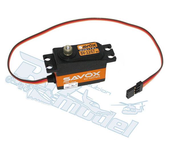 SAVOX SV-1257MG Digital Servo High Voltage 7,4V SAXSV-1257MG