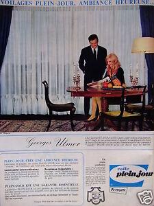 Publicit 1967 voile plein jour tergal georges ulmer et sa for Plein jour fenetre
