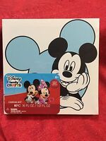 Mickey Mouse Diy Paint Kit -stretched Canvas 8x8 Frame- 6 Paint Tubes & Brush