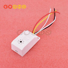 Infrared Body Motion Radar Sensor Pir Sensing Switch Microwave Detectorac85v 265