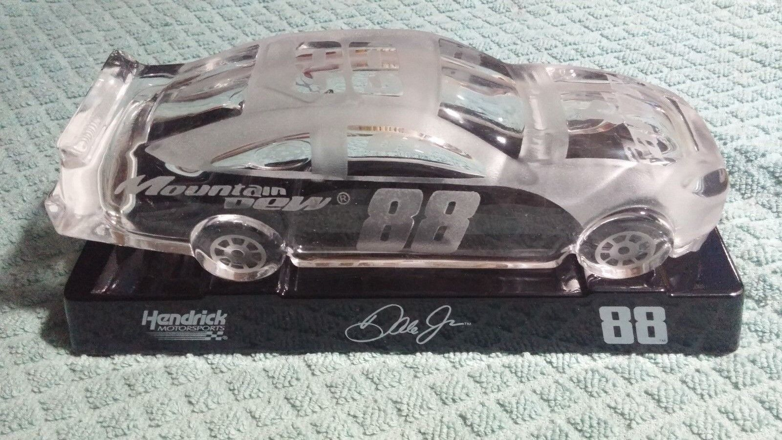 Dale Earnhardt Jr Crystal Car -   88 - with display stand
