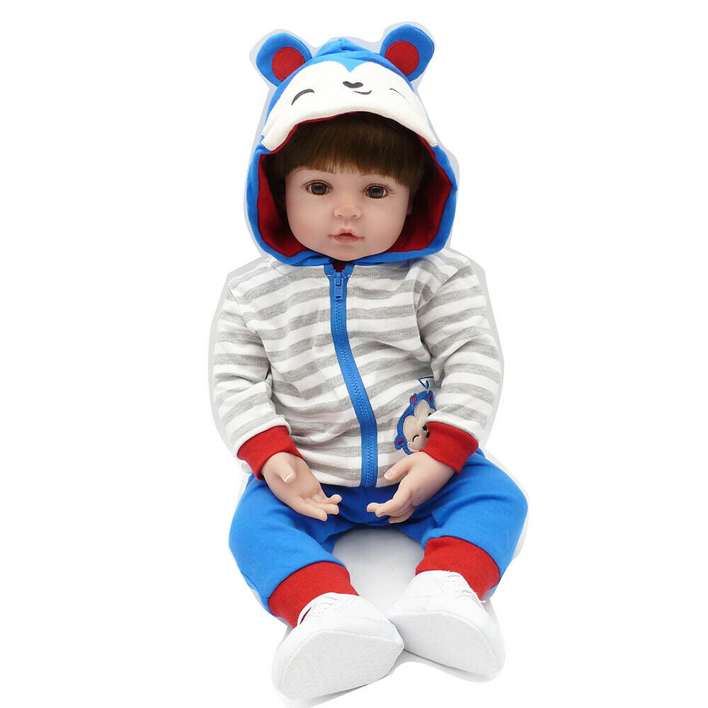 Baby Boy Doll - Silicone With Full Accessories Realistic Anatomically Correct