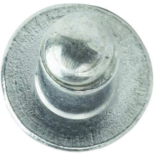 "Aluminum Pop Rivets 1//8/"" x 1//8/"" Dome Head Blind 4-2 Gap .063-.125 Qty 500"