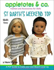 """Weekend Wear Doll Clothes Sewing Pattern for 17/"""" Harry Potter Dolls Tonner"""