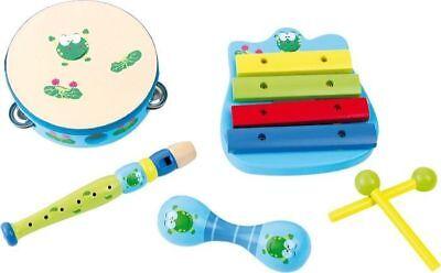 Gioco Giocattolo Animale Musicale Xilofono Per Bambini In Legno 5 Piastre moc