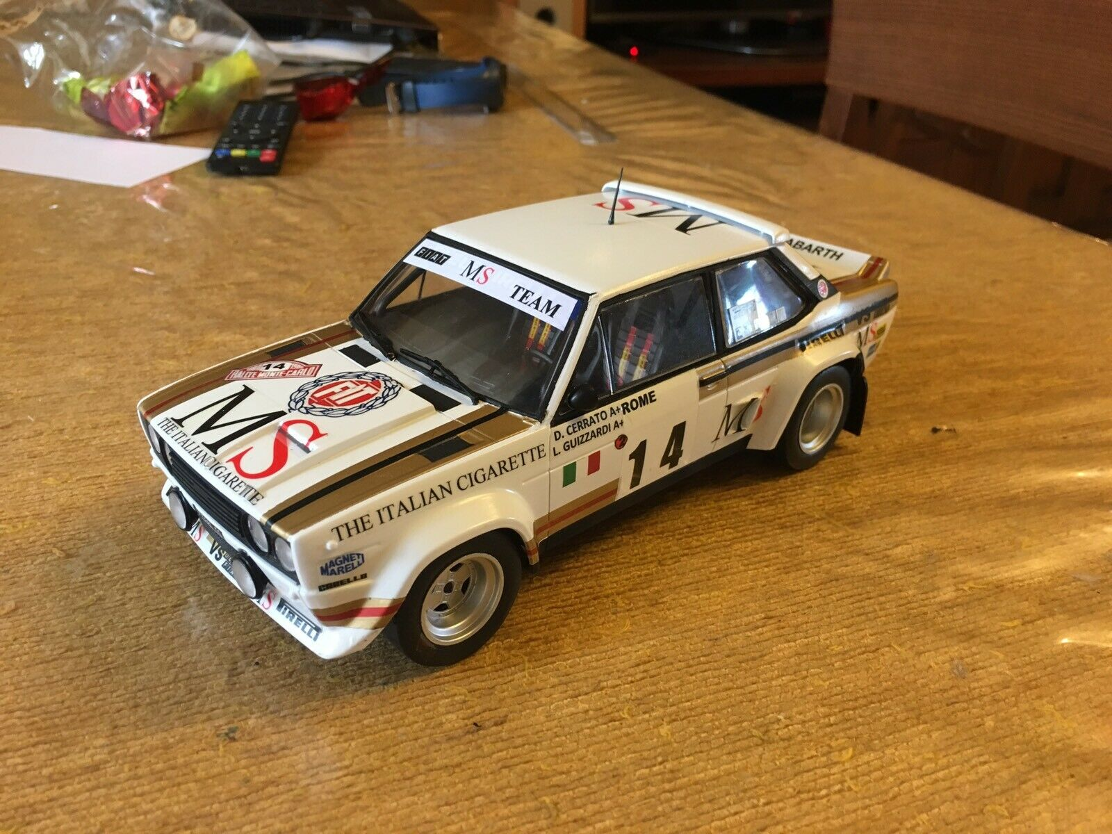 Fiat 131 MS 1 18 Solid Craft
