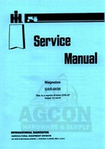 Wico x magneto Repair manual