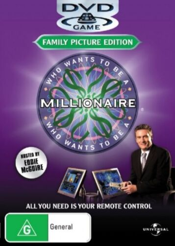 1 of 1 - - WHO WANTS TO BE A MILLIONAIRE (FAMILY PICTURE EDITION) NEW SEALED [REGION 4]