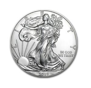 Silber-Eagle-2019-1-OZ-Unze-Ounce-Once-Silver-Argent-USA-US-American-Etats-Unis