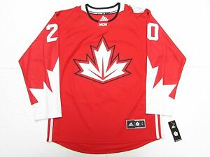 sports shoes 3fb04 58d6a Details about JOHN TAVARES TEAM CANADA RED WORLD CUP OF HOCKEY ADIDAS  JERSEY SIZE LARGE