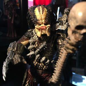 "2018 NECA Ultimate Predator Movie Jungle Hunter 8"" Loose Action Figure w/ Skull"
