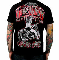 Hells Angels Support 81 T-Shirt NOMADS ITALY black new NEU