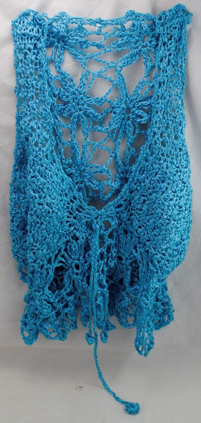 Crochet Cami Women's Top Handmade 34  C Summer Sexy