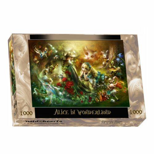 1000 Stück Puzzle Alice Im Wunderland