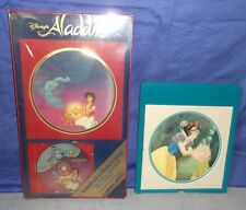 Walt Disney's Aladdin Soundtrack OST CD Collector's Series Box 90s Snow White