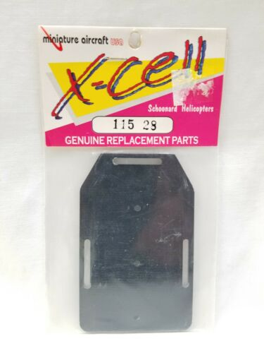 Details about  /Miniature Aircraft X-Cell G-10 Fury RC Helicopter Battery Tray 115-28