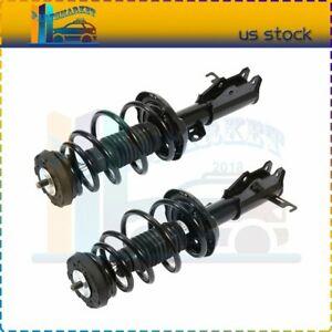 Pair Front Quick Complete Struts /& Coil Spring Assemblies Compatible with 2009-2014 Acura TL FWD