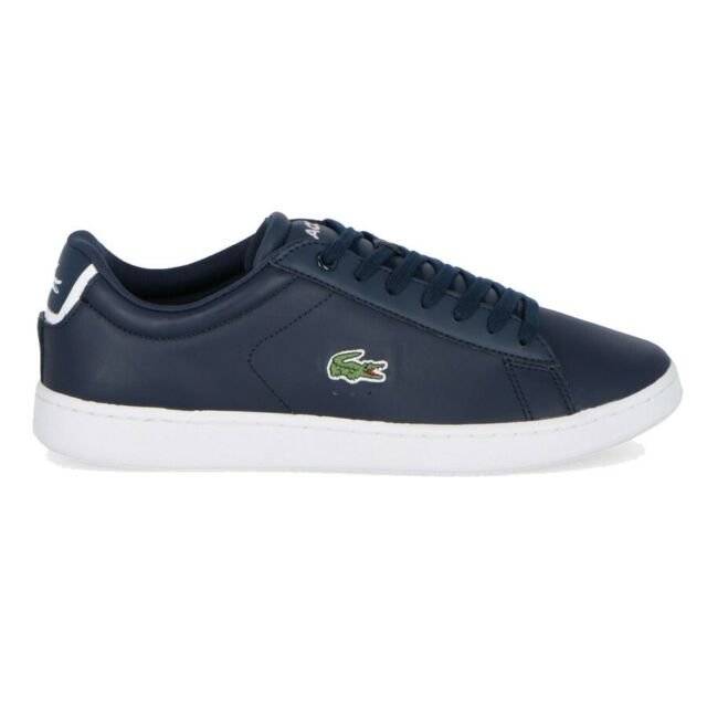 Lacoste Navy Evo Bl Spm In Trainers Blue Leather Carnaby 1 Y7mb6gyIfv