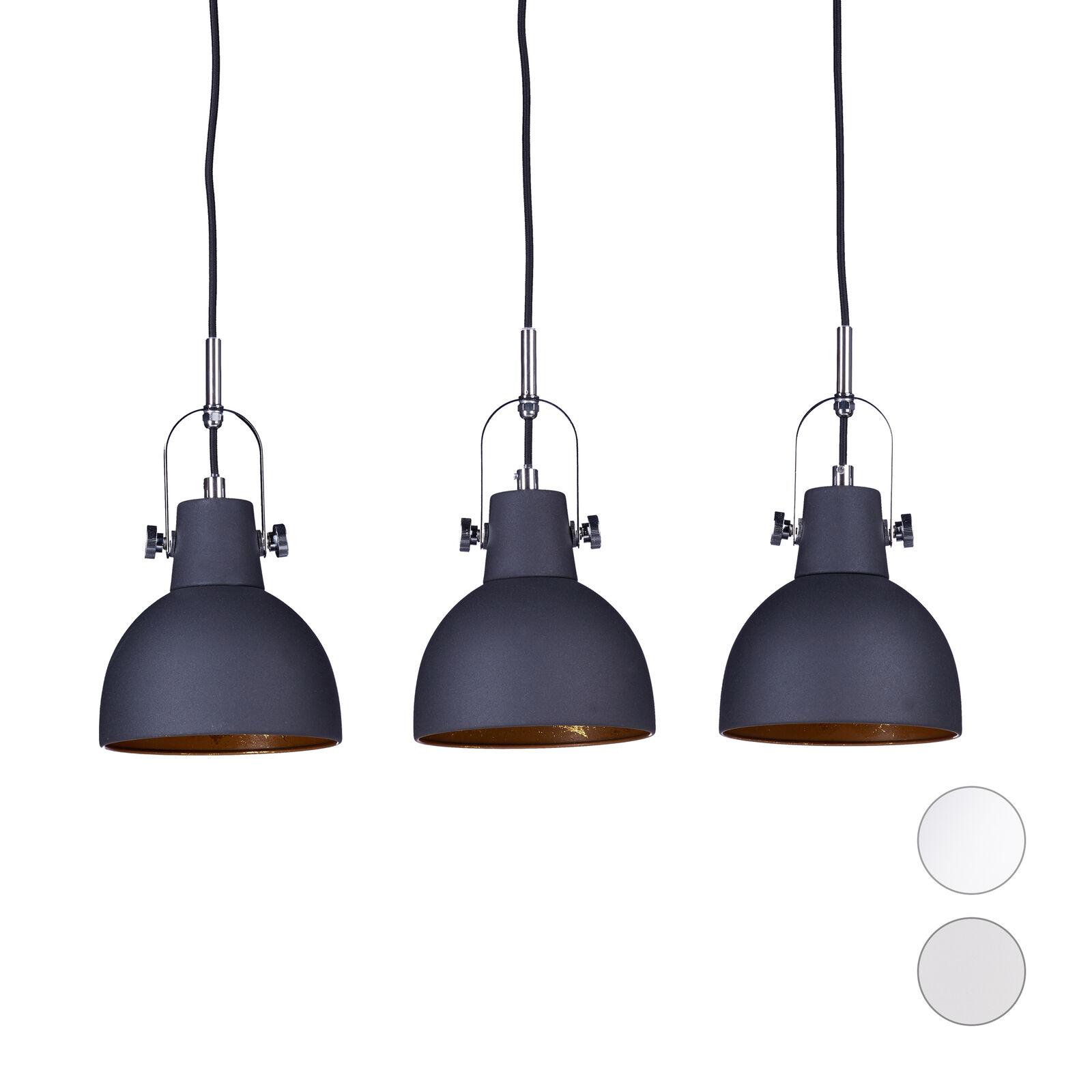 Sconto del 70% Luce pendente 3-fiamma, regolabile regolabile regolabile in altezza, Lampada da Soffitto, Design Lampadario  vieni a scegliere il tuo stile sportivo