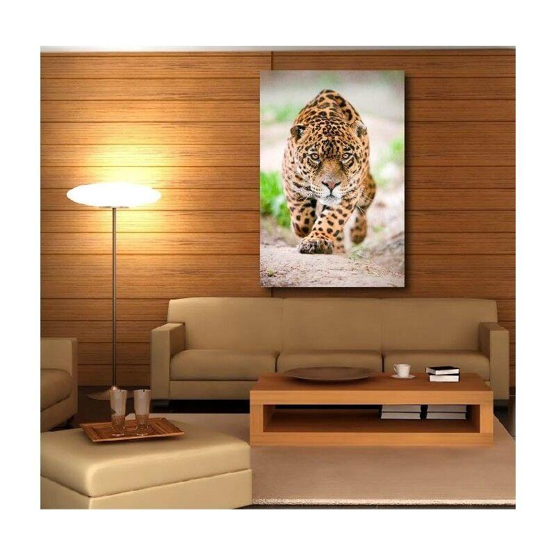 Tableaux toile déco rectangle guépard Farbe 66020209