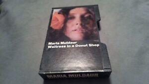 "Maria Muldaur ""Waitress in a Donut Shop"" Cassette Tape Vintage Slipcase"