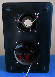 Details About Bookshelf Speakers Boxes W Custom Crossovers See Video