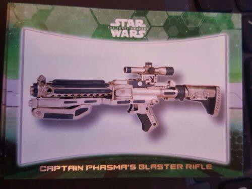 2015 Topps Star Wars The Force Awakens Weapon #4 Captain Phasma/'s Blaster Rifle