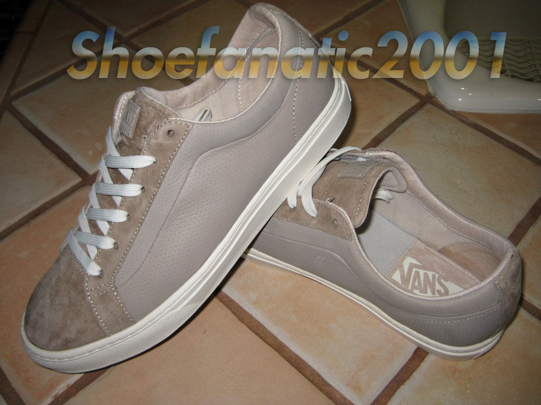 Vans Tan OTW Sample CA Whitlock Tan Vans Weiß 9 Syndicate Leder Suede Supreme 9155f4