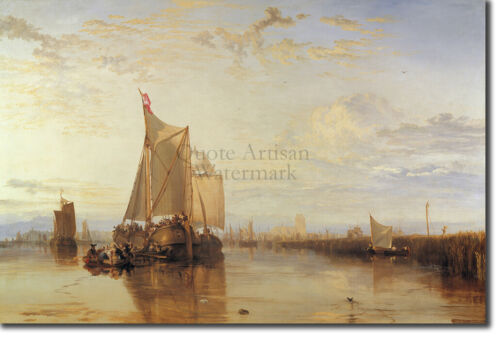 - Art Print Painting Poster W The Dort 1818 M Turner J