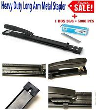 """16/""""Heavy New Duty Long Arm Metal Home Office Stapler Student School Staple GIJH4"""