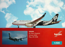 Herpa Wings 1:500  Airbus A320  Air New Zealand ZK-OXB  526500