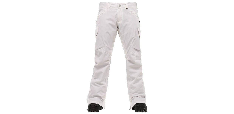 BURTON Women's BASIS Snow Pants - White - XL - NWT