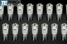 Temco 40/5 MFD UF Dual Run Capacitor 370 440 VAC Volts 50 Lot AC Motor HVAC 40 5